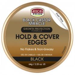 African Pride Black Castor Edge Gel
