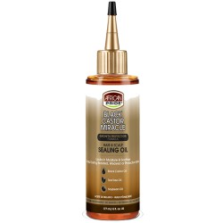 African Pride Black Castor Hair & Scalp Sealing Oil