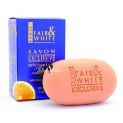 "Fair & White Exclusive Exfoliating Soap with Pure Vitamin ""C"""