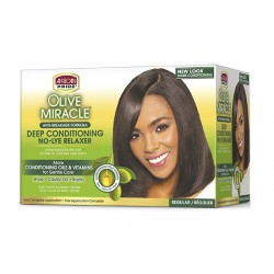 Olive Miracle Anti Breakage No Lye Relaxer