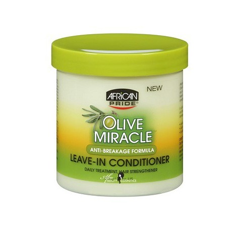 Olive Miracle Anti Breakage Formula Leave In Conditioner