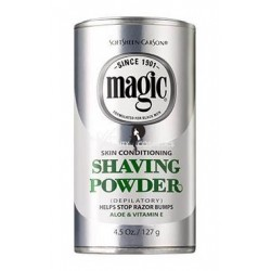 Magic Shaving Powder Skin Conditioning (Silver)