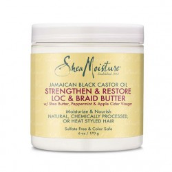 Shea Moisture Jamaican Black Castor Oil Strengthen & Restore Lock & Braid Butter