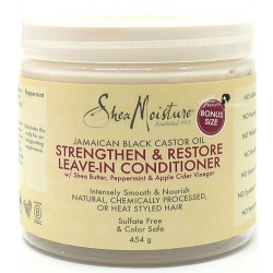 Shea Moisture Jamaican Black Castor Oil - Strengthen & Restore Leave-in Conditioner