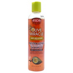 African Pride Olive Miracle Neutralizing Shampoo