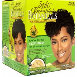 Soft & Beautiful Botanicals Texturizer for Sensitive Scalps Regular