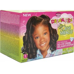 African Pride Dream Kids Olive Miracle Relaxer Super/Coarse