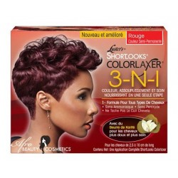 Luster's Shortlooks Colorlaxer 3-N-1 Red