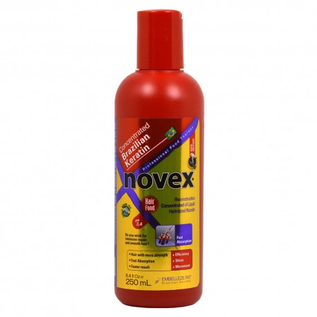 Novex Brazilian Max Keratin Concentrated Reconstruction Hair Food