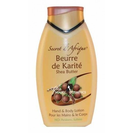 Secret D'afrique Beurre de Karite Body Lotion with Shea Butter