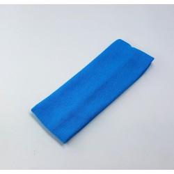 Kids haarband van stof Blauw