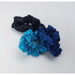 Scrunchie set van 3 stuks Blauwe serie