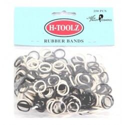Rubber Bands Mini Elastiekjes Zwart-Wit