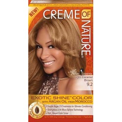 Creme of Nature Argan Oil Exotic Shine Hair Color 9.2 Light Caramel Brown