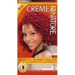 Creme of Nature Argan Oil Exotic Hair Color 7.6 Intensive Red