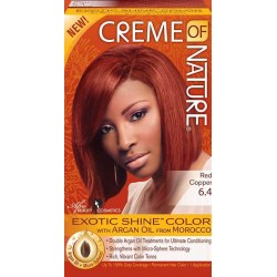 Creme of Nature Argan Oil Exotic Hair Color 6.4 Red Copper