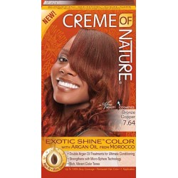 Creme of Nature Argan Oil Exotic Hair Color7.64 Bronze Copper