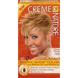Creme of Nature Argan Oil Exotic Hair Color 10.0 Honey Blonde