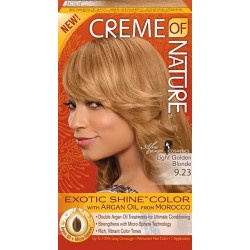 Creme of Nature Argan Oil Exotic Hair Color 9.23 Light Golden Blonde