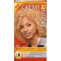 Creme of Nature Argan Oil Exotic Hair Color 10.01 Ginger Blonde