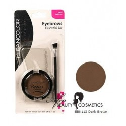 Brows Essential Kit EBK112 Dark Brown