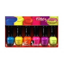 Candy Cast Neon Nailpolish Mini Collection