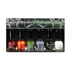 Wicked Witch Gothic Nailpolish Mini Collection