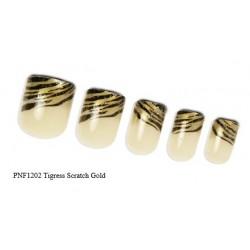 Artsy French Tigress Scratch Gold