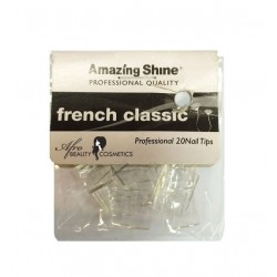 Nail Tips French Classic Clear