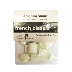 Nail Tips French Classic White