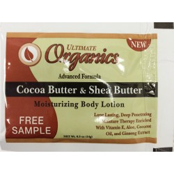 Ultimate Organics Cocoa Butter & Shea Butter Body Lotion