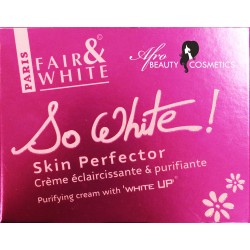 Fair & White So White Skin Perfector Purifying Cream