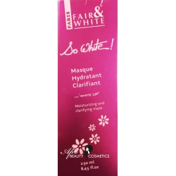 Fair & White So White Masq Hydratant Clarifiant Moisturizing and Clarifying Mask