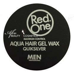 Red One Aqua Hair Gel Wax Quiksilver Black