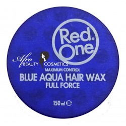 Red One Blue Aqua Hair Wax Full Force
