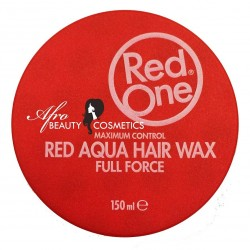 Red One Red Aqua Hair Wax Full Force