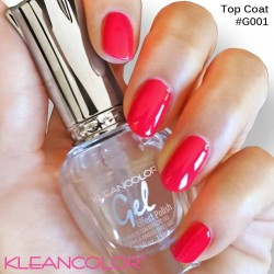Kleancolor Gel Effect Nailpolish G001 Top Coat