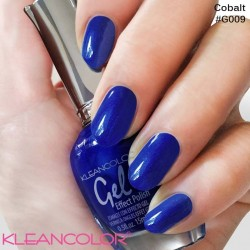 Kleancolor Gel Effect Nailpolish G009 Cobalt
