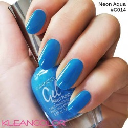 Kleancolor Gel Effect Nailpolish G014 Neon Aqua