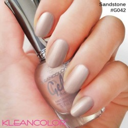 Kleancolor Gel Effect Nailpolish G042 Sandstone