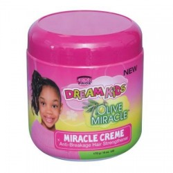 African Pride Dream Kids Olive Miracle Anti-Breakage Hair Strengthener Creme
