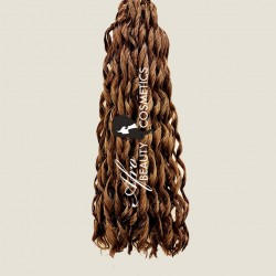 Short Loose Curl 8 Light Brown