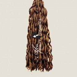 Short Loose Curl 8 Light Brown