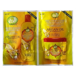 TCB Naturals Argan Oil Shampoo & Deep Treatment (K043)
