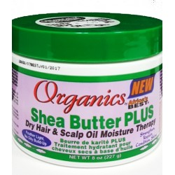 Africa's Best Organics Shea Butter Plus