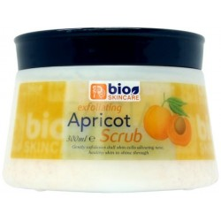 Bio Skincare Apricot Face and Body Scrub Tube