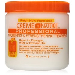 Creme of Nature Nourishing & Strengthening Treatment with Jojoba & Olive Oil