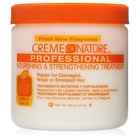 Creme of Nature Nourishing & Strengthening Treatment with Jojoba & Olive Oil