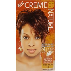Creme of Nature 4.5 Hair Color Sunset Brown