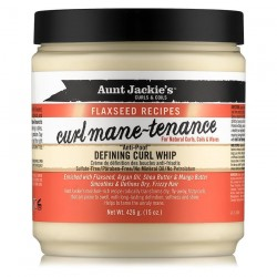 Aunt Jackie' s Curls & Coils Flaxseed Recipes Curlmane-Tenance - Defining Curl Whip